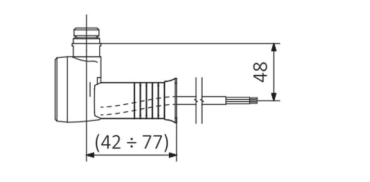 <p>M - kabel prosty bez wtyczki z maskownicą</p>