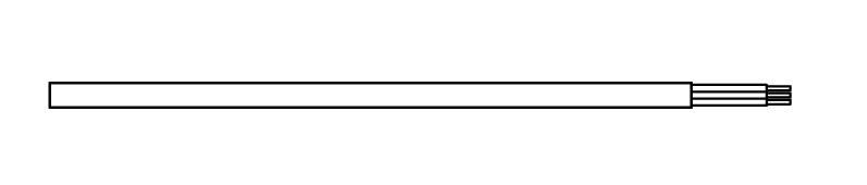 <p>P -kabel prosty bez wtyczki</p>
