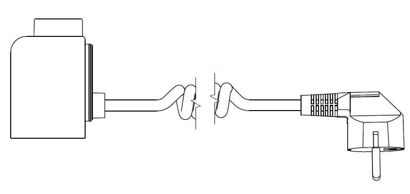 <p>U - kabel spiralny z wtyczką</p>
