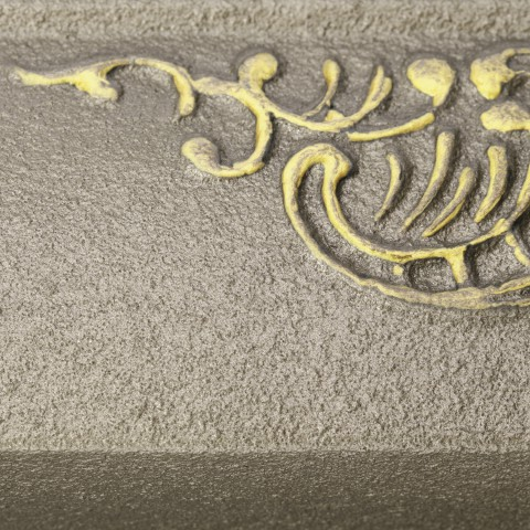 Evening Garden [eksponowany ornament - Gold]